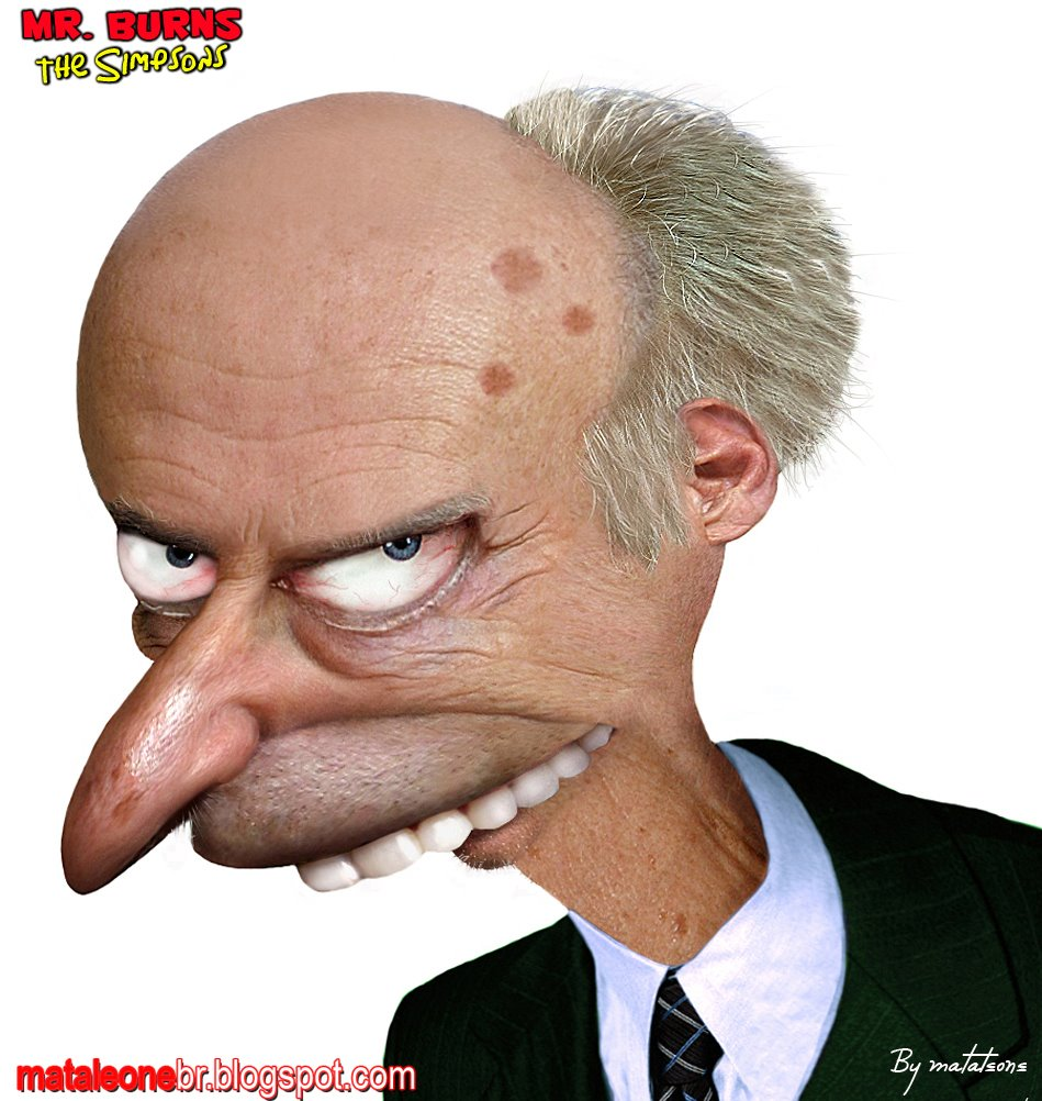 Mr. Burns untooned