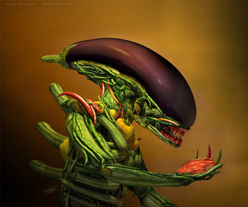 Ensalada Alien