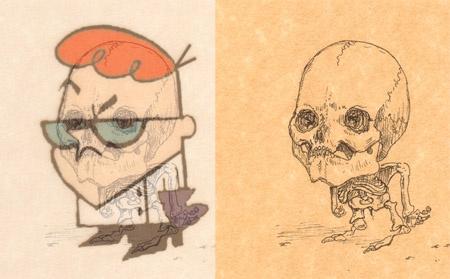 Esqueleto Dexter