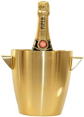 Hielera para Champagne de Oro