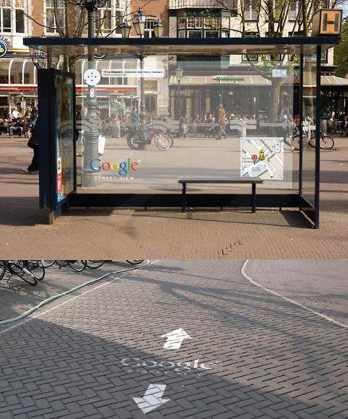 Publicidad Google Street View