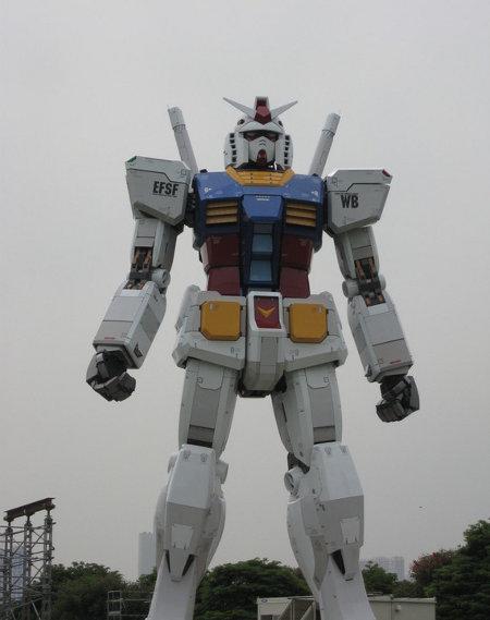 Robot gundam de metros echandola