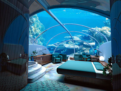 Hotel bajo el agua en Istambul