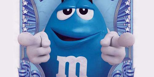 M&Ms Azules
