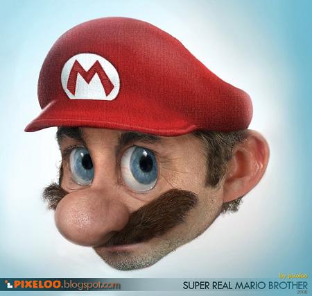 Mario Bros Real