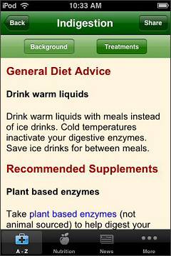 Natural Cures iPhone