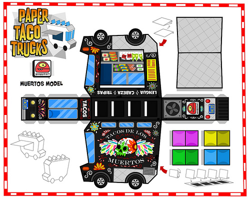 Paper Taco Trucks