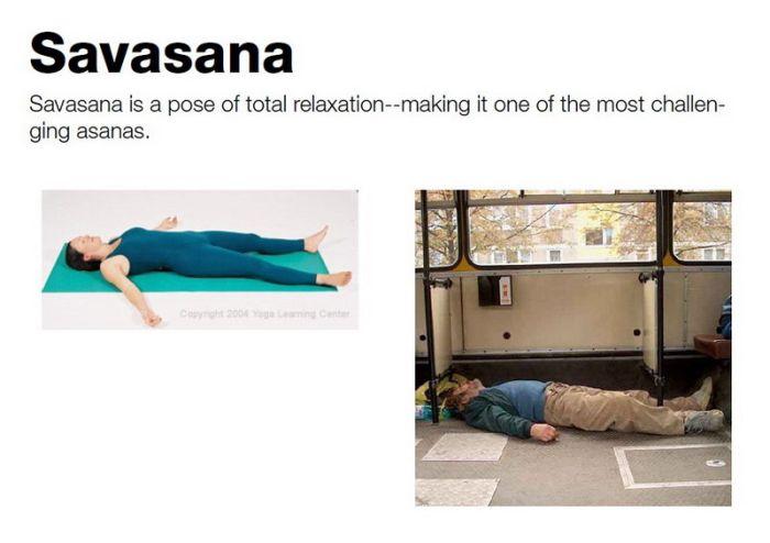 Yoga con borrachos