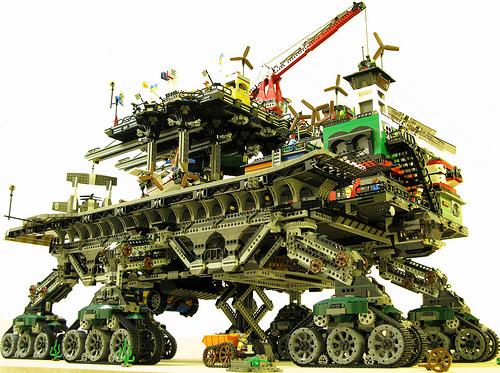 Crawler Town en Lego