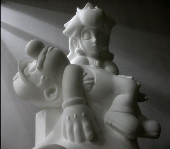 La piedad de Mario Bros