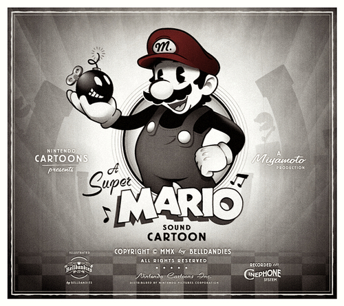 Mario Disney vintage