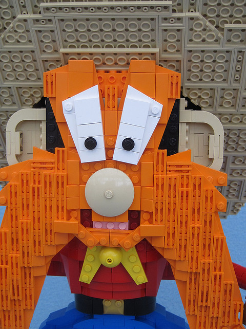 Yosemite Sam in Lego
