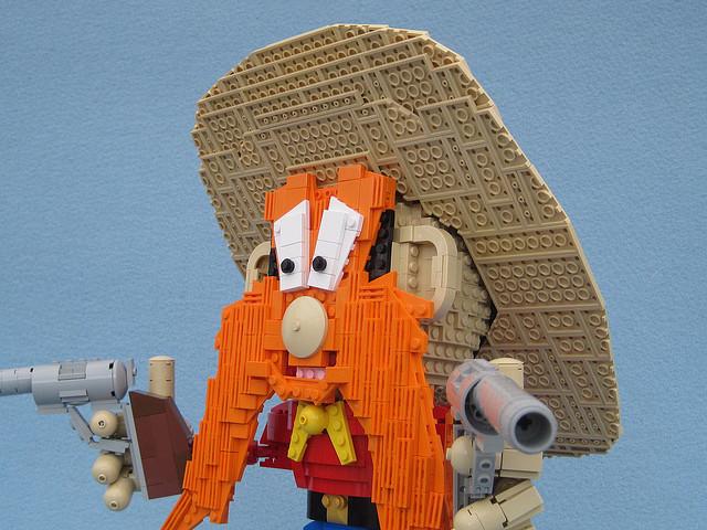 Yosemite Sam in Lego