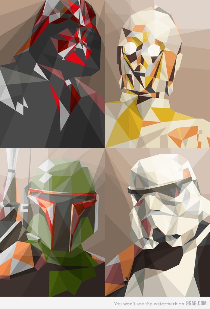 Cubist Star Wars