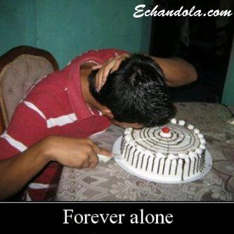 Forever Alone Birthday
