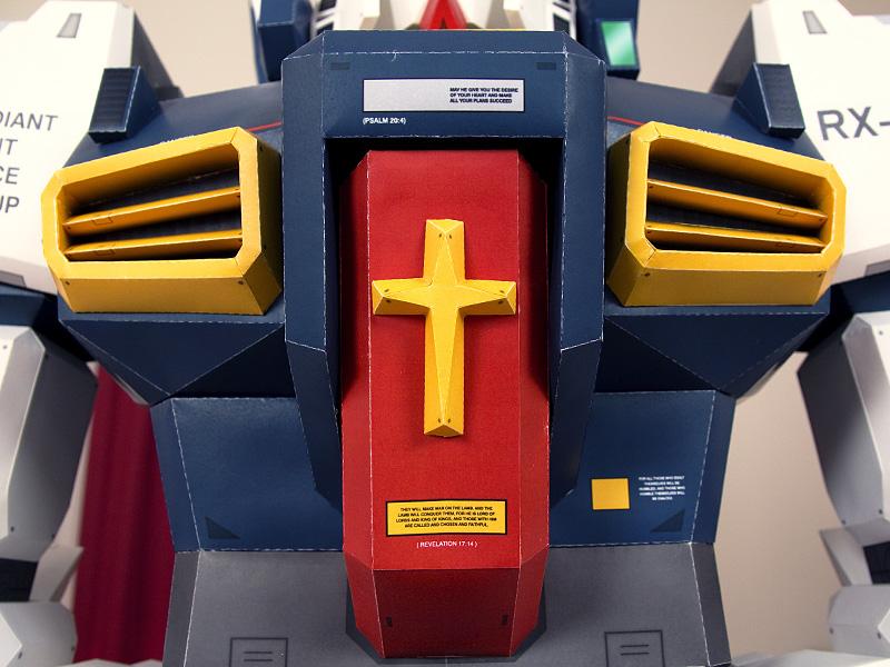 Gundam de papel