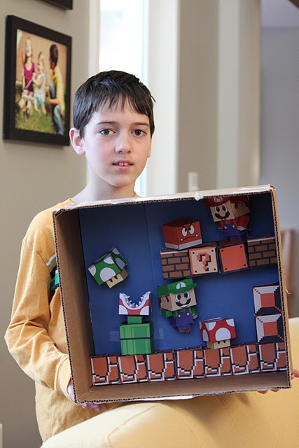 Super Mario Bros Diorama