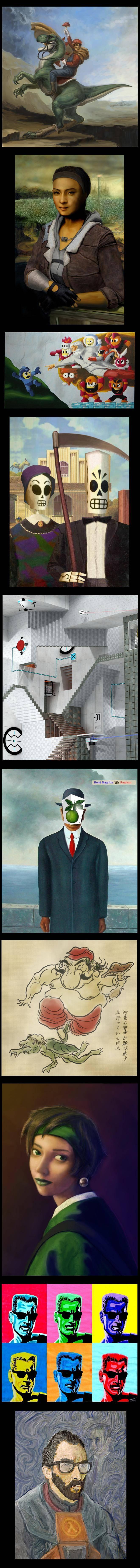 Portal estilo Escher