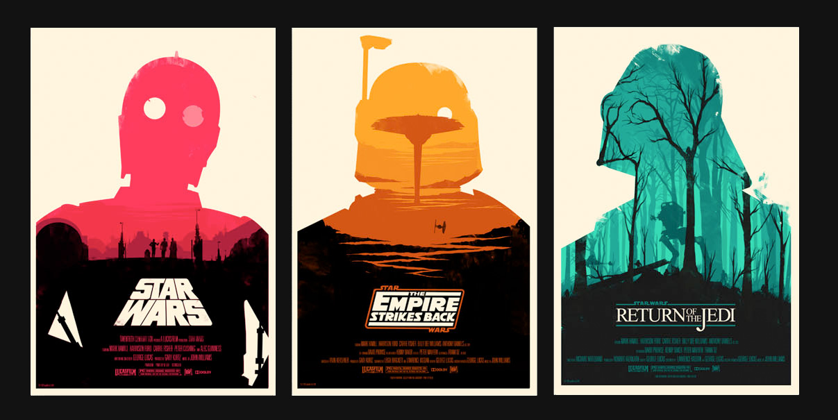 Star Wars Fan Art posters