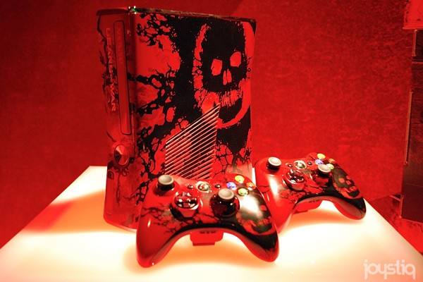 Xbox 360 Gears of War 3 edition
