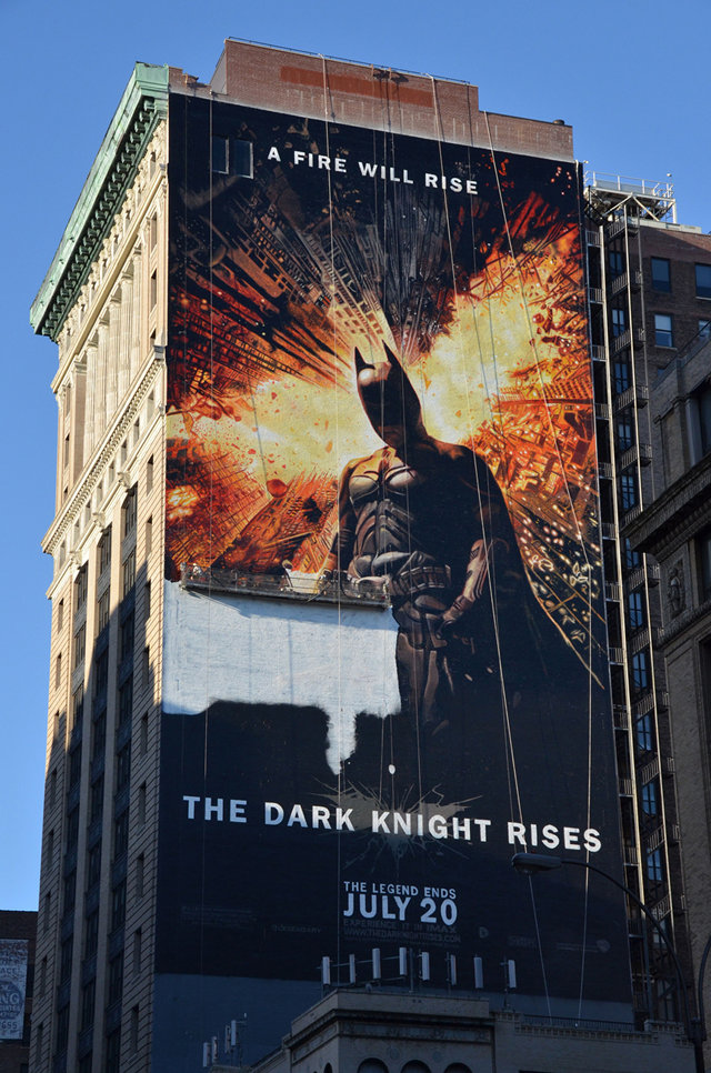 Mural de Dark Knight
