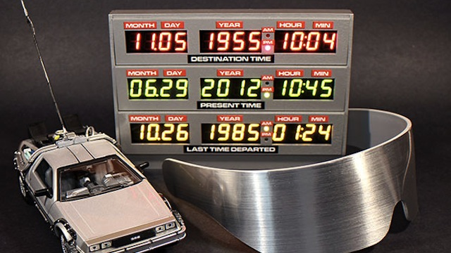 Delorean Clock