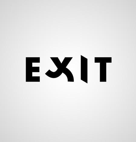 Exit text