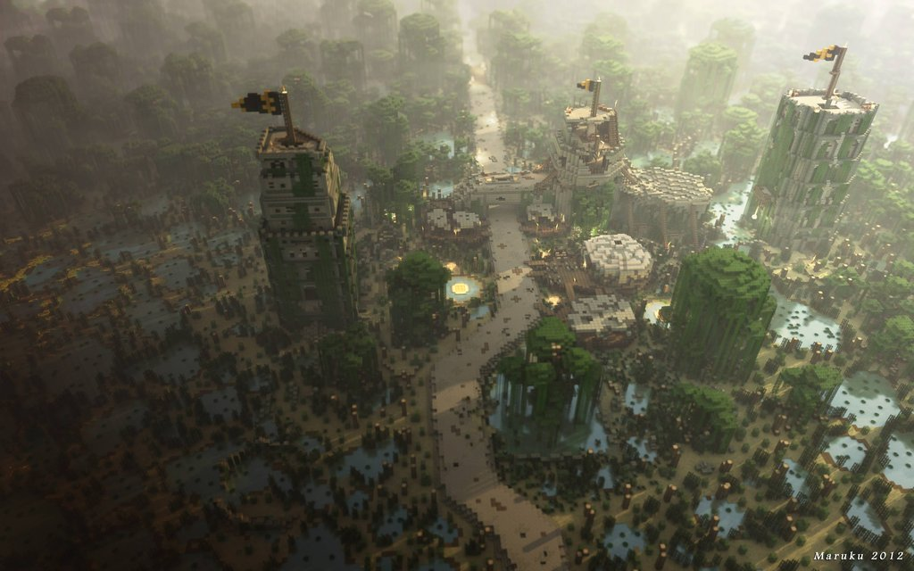 Game of Thrones hecho en Minecraft