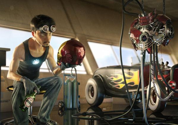 Tony Stark version PIXAR