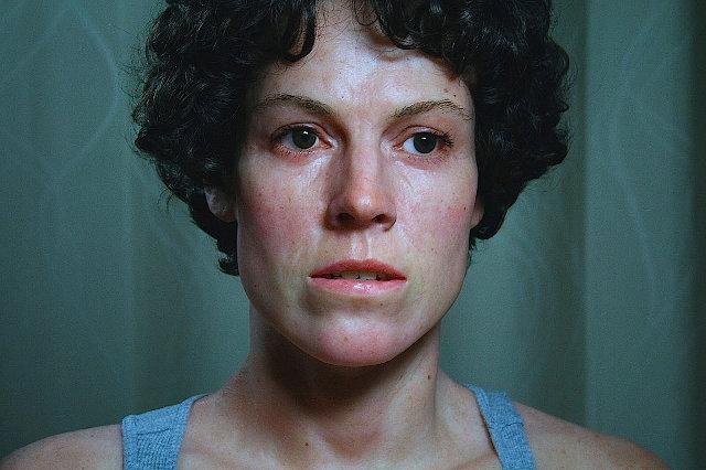 Escultura de Sigourney Weaver