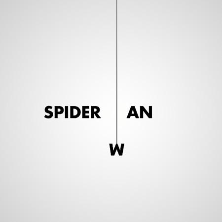Spider-man text