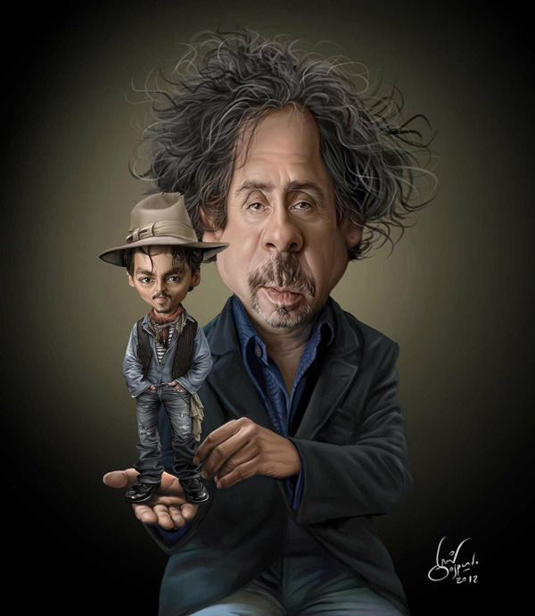 Tim Burton Paint