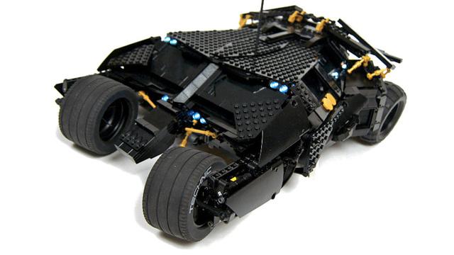 el tumbler de batman hecho con lego echandola. Black Bedroom Furniture Sets. Home Design Ideas