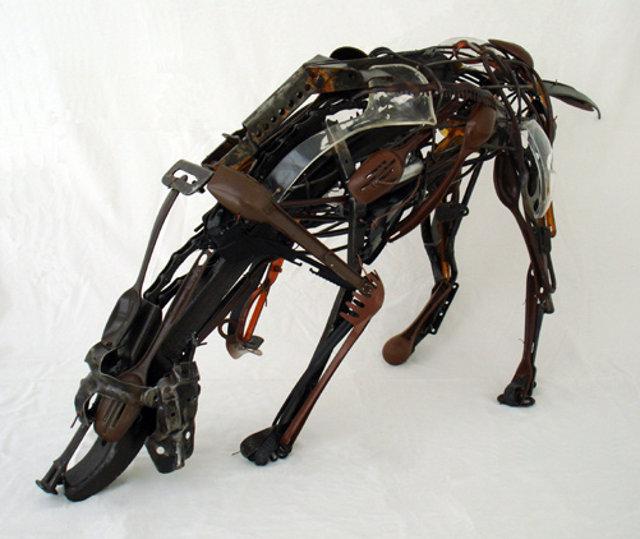 Animales hechos con utensilios