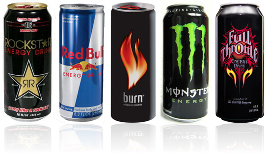 Bebidas energeticas