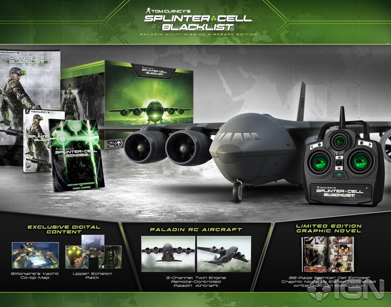 Splinter Cell Blacklist Collector's edition