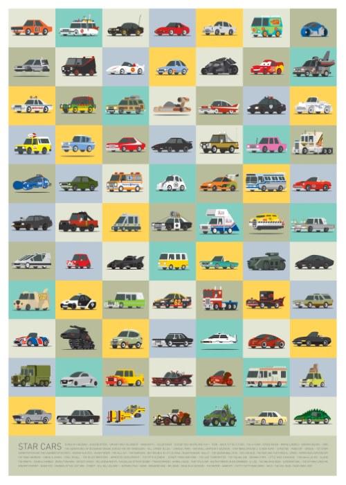 Star Cars ilustraciones