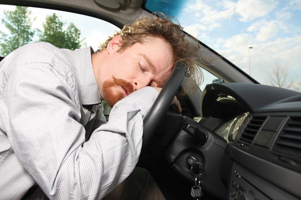 durmiendo auto