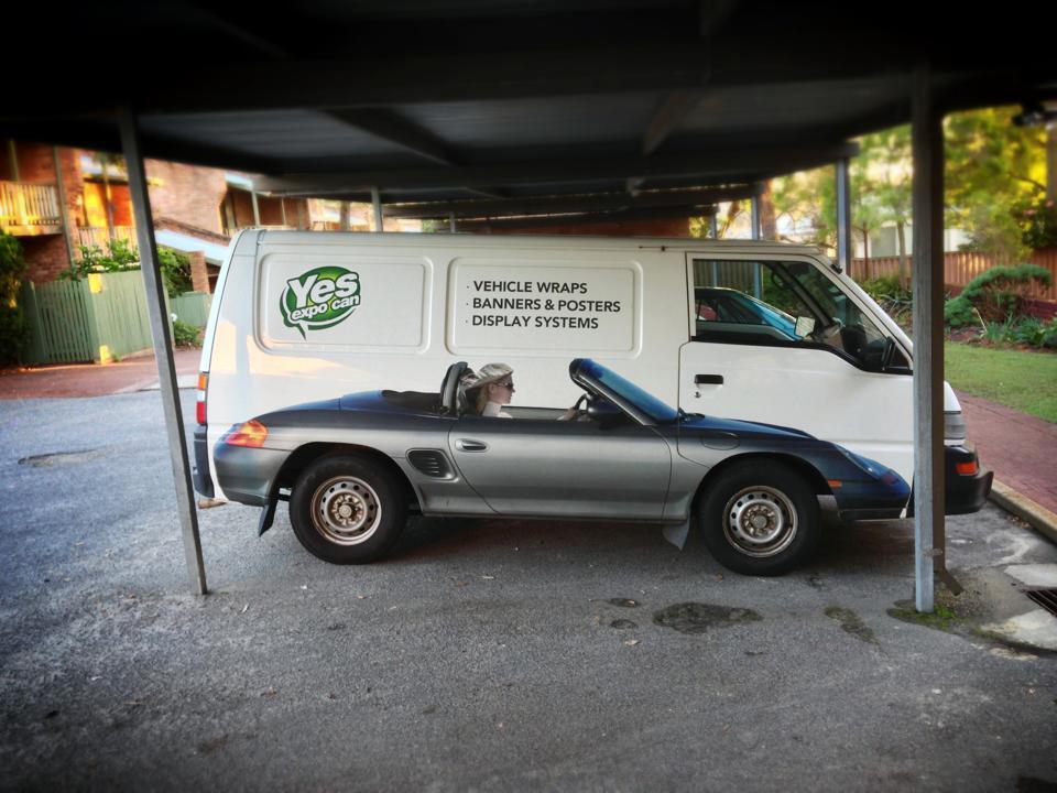 dos coches publicidad