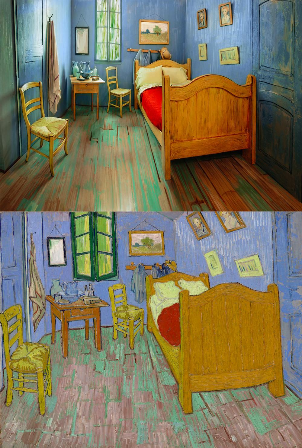 Rentan replica de cuarto de Van Gogh - Echandola